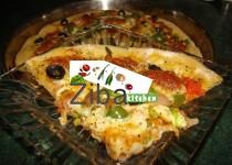 پیتزا ئی آرد سبوسدار