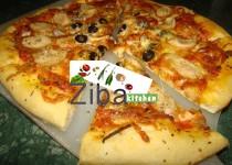 ساسچ پیتزا