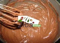 کریم پودین چاکلیتی برای کیک