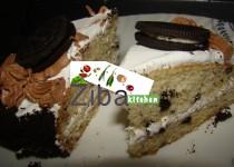 کیک کریم دار اوریو