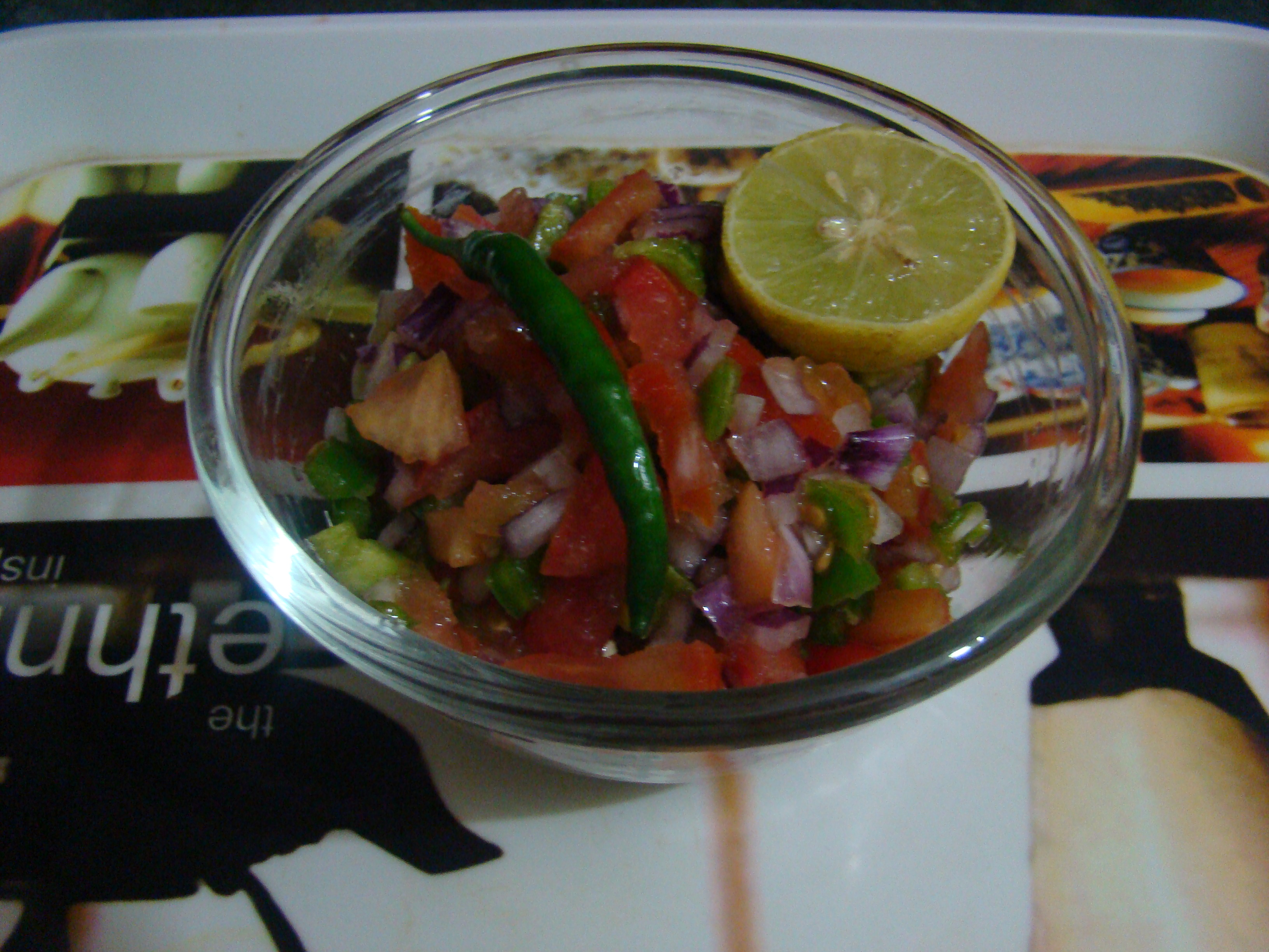 Salata ( its like salsa) Recipe
