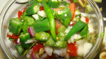 Lady Finger Salad Recipe