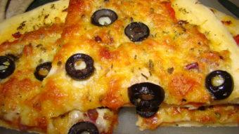 Veg Pizza Crust Recipe