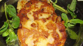 Veg Chapli Kabab Recipe