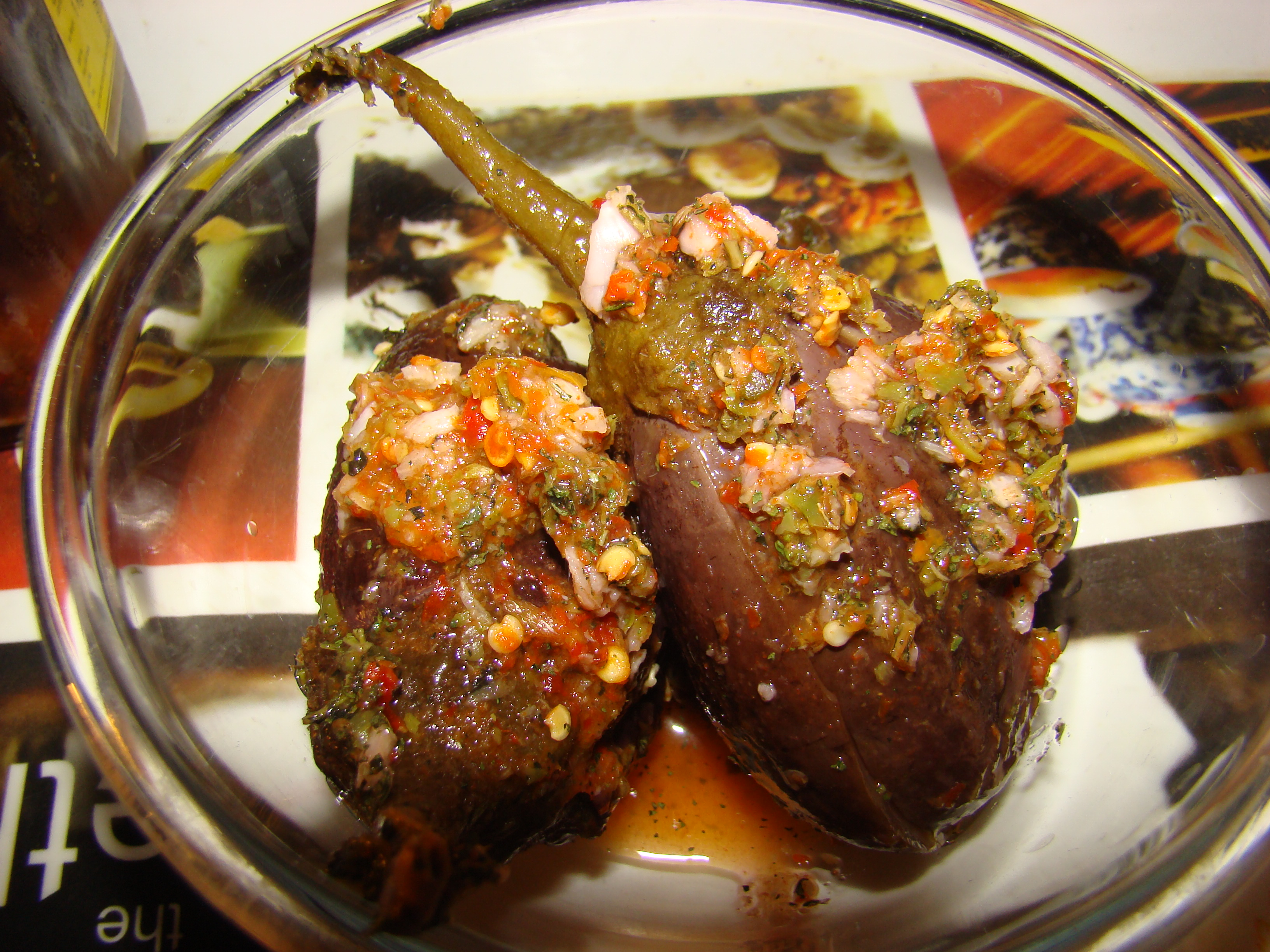 Western Eggplant Pickles (Torshi Banjaan) Recipe