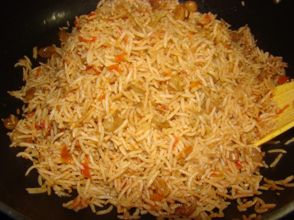 Afghan+Recipes+Rice Ziba Kitchen ( Dast Pukht Afghani) - Kishmesh ...