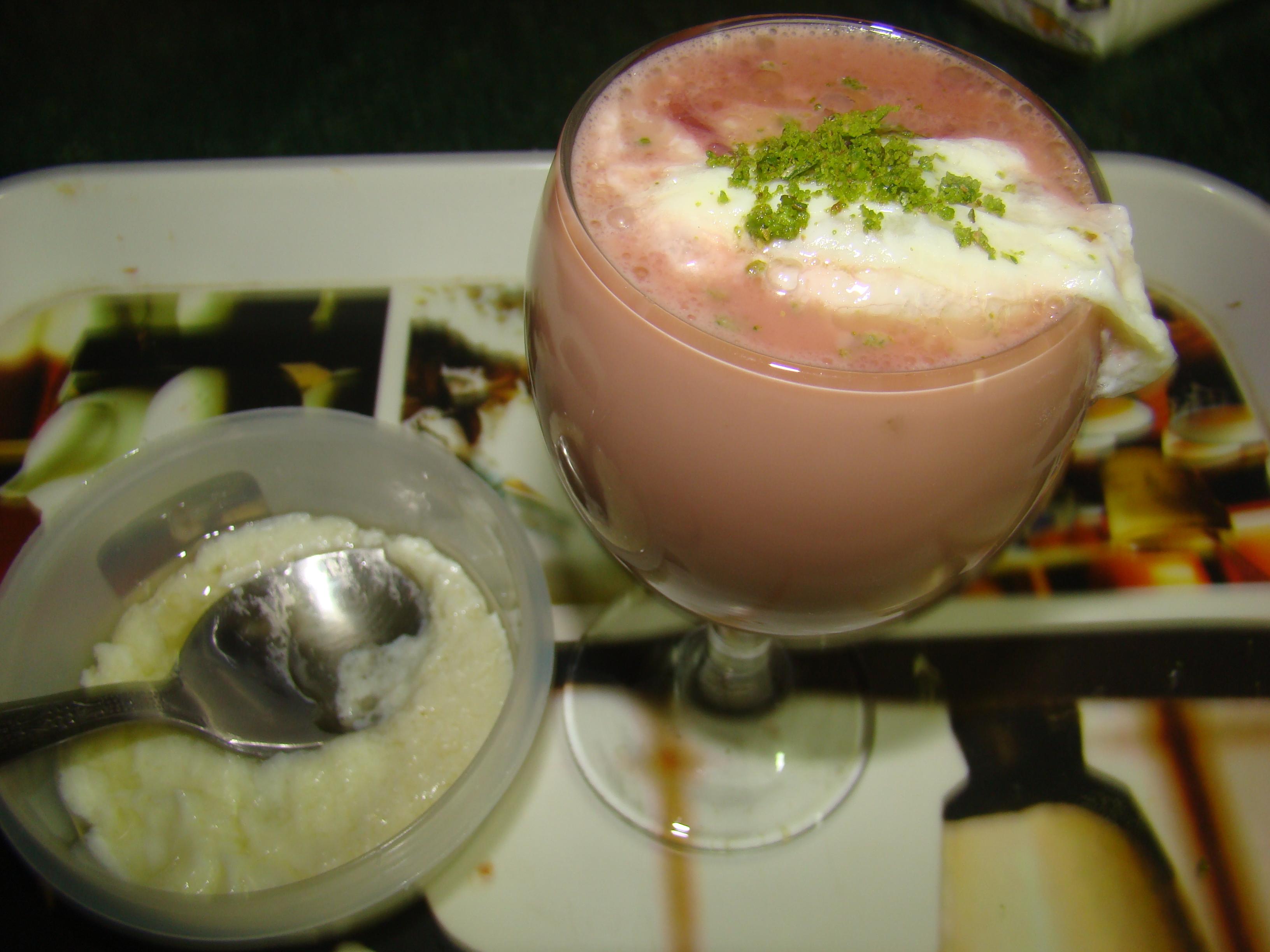 Qaimaq chai (pink tea) Recipe