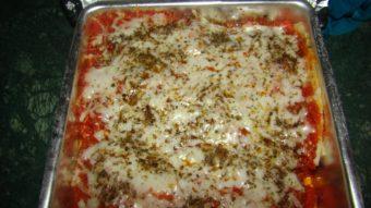 Mushroom & Spinach Lasagna Recipe