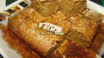 Eggless Banana & Jaggary Cake Recipe