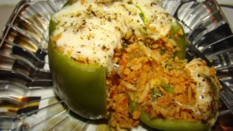 Dolma Murch (Veg Stuffed Bell Pepper) Recipe