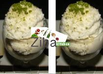 Coconut Vanilla Ice-cream