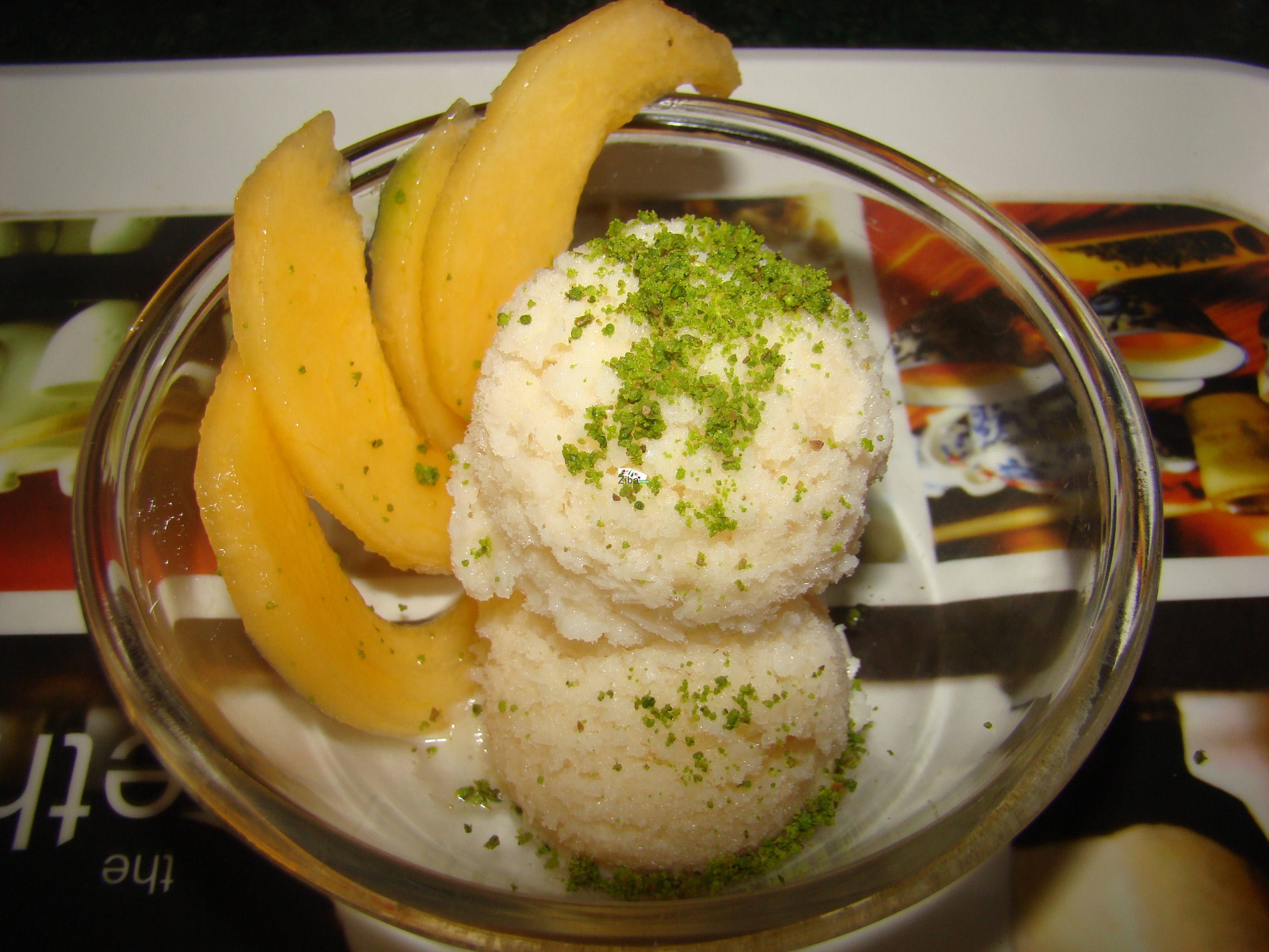 Sweet Melon Ice-cream Recipe