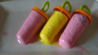 Jamun Ice-Cream Pops Recipe
