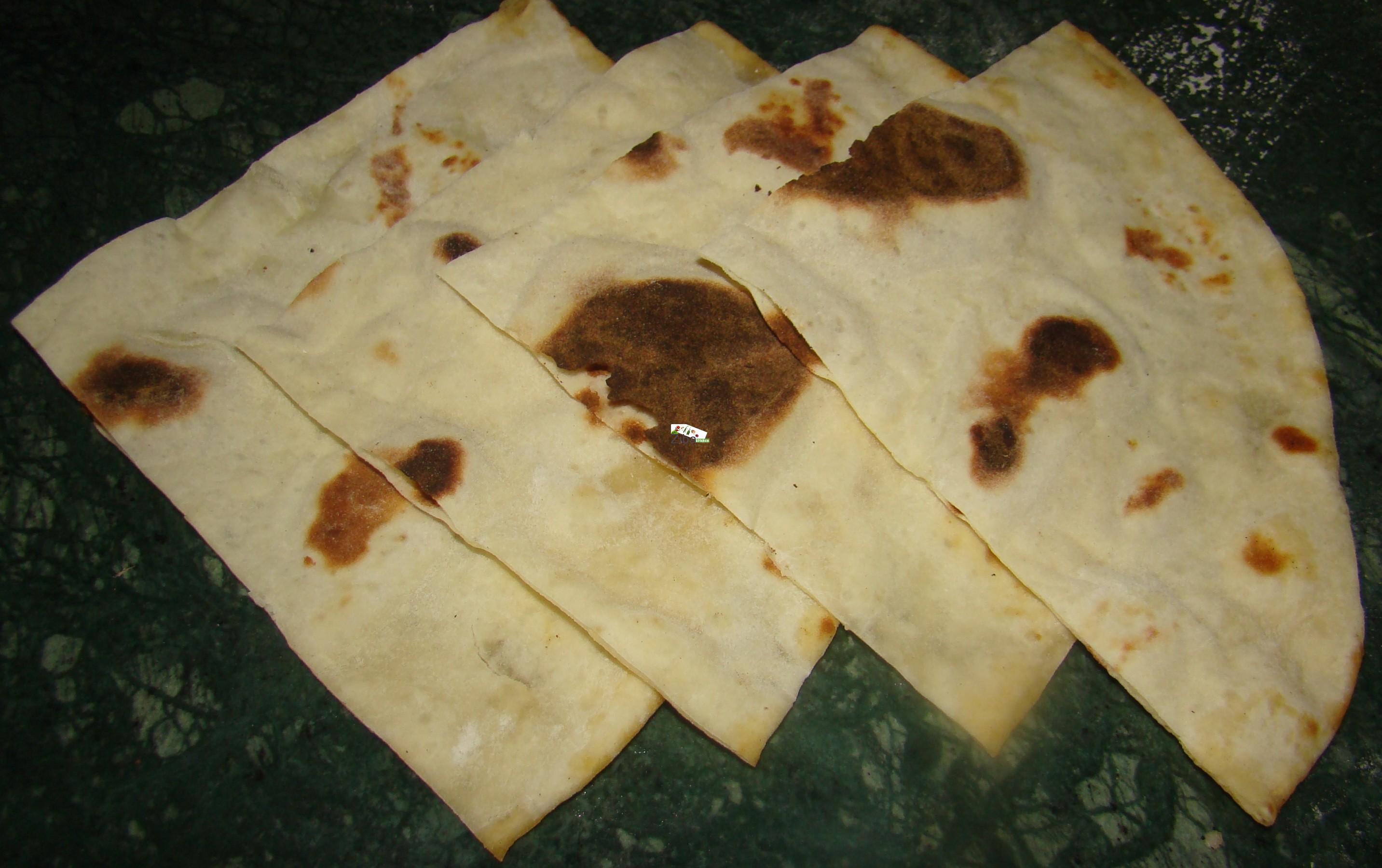 Naan Lavash or Paraky Recipe