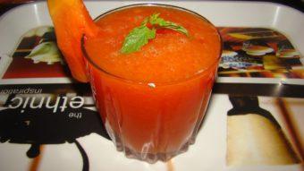 Papaya Juice Recipe