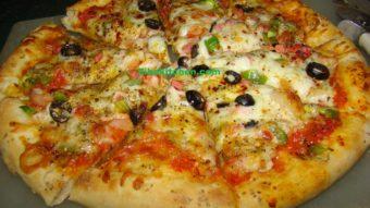 Homemade Veg Pizza Recipe