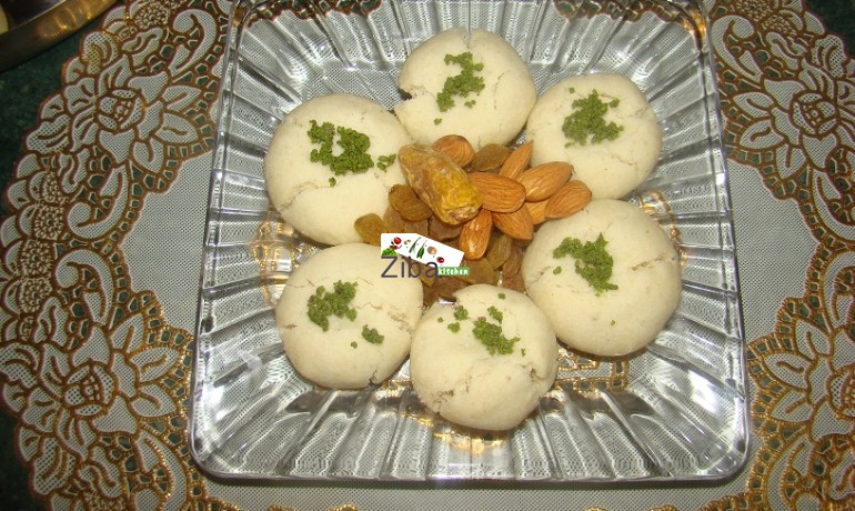 Afghan rice cookie recipe