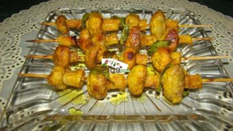 Mushrooms Kabab Recipe