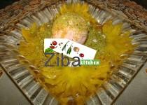 Honey Glazed Pineapple with Ice Cream