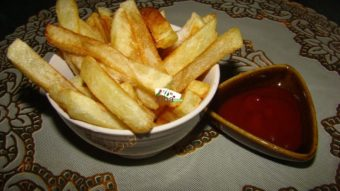 Afghani French Fries Recipe
