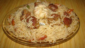 Uzbek Meat with rice (Qabuli Uzbeki) Recipe
