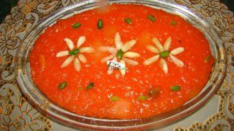 Orange Sweet Rice Pudding (shole Sheerin) Recipe