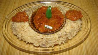Rice with Turnip (Shalgham Bata) Recipe