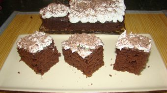 Chocolate Cake with Whipped Cream Recipe