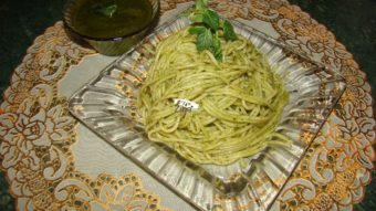 Pesto Spaghetti Recipe