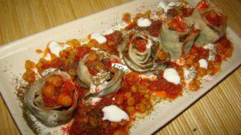 Flower Shape ِDumplings (Ashak ) Recipe