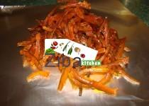 Julienned Orange Peel For Rice