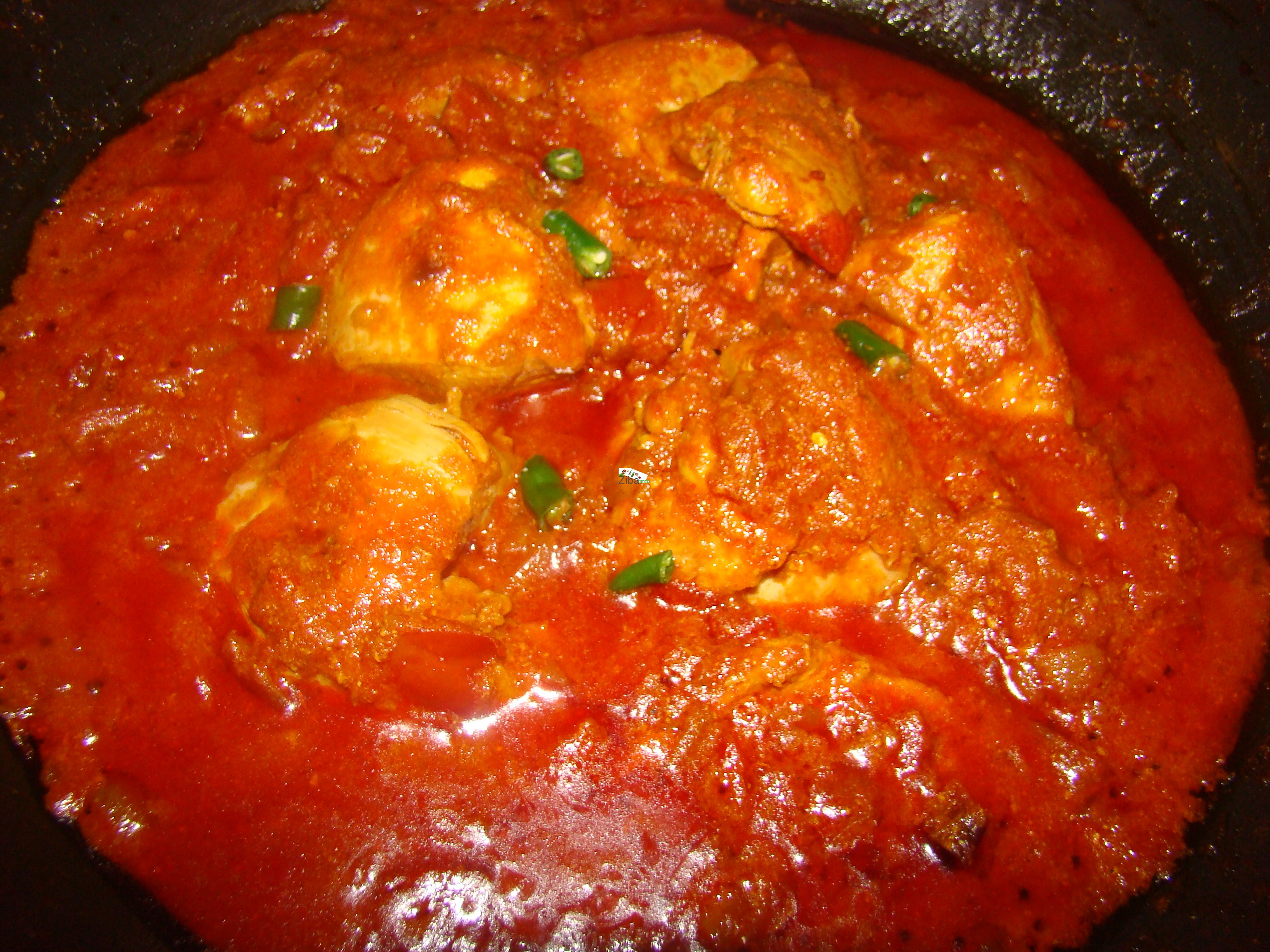 Karahi Chicken (Mughuli) Recipe