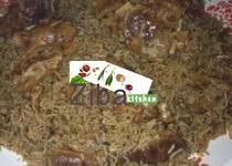 Kecheri Laandy (Dried Meat with Soft Rice &Mung)