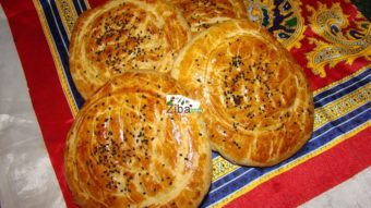 Naan Roghani (Flat Bread) Recipe