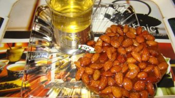 Caramelized Almond (Badam Sherin) Recipe
