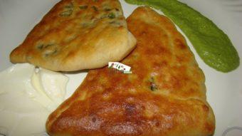 Bolani Tandori Gandana Recipe