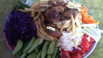 Murgh Beryan (Fried Chicken) Recipe