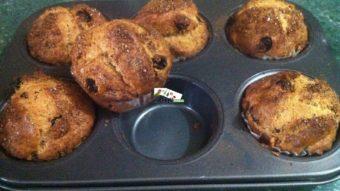 Cinnamon & Raisin Muffins Recipe