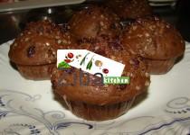 Cocoa & Raisin Muffins