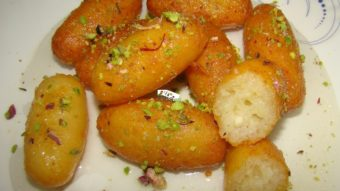 Paneer Gulab Jamun Recipe