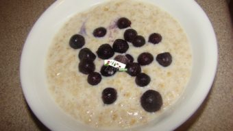 Blueberry Oatmeal Breakfast Recipe