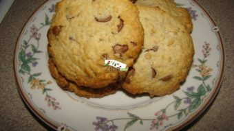 Oats Choco Chips Cookies Recipe
