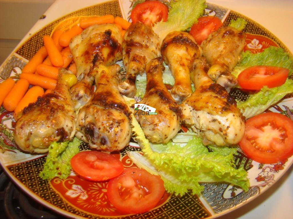 Ziba Kitchen ( Dast Pukht Afghani) - Baked Chicken Drumsticks