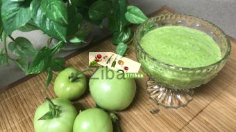 Green Tomatoes Chutney I Recipe